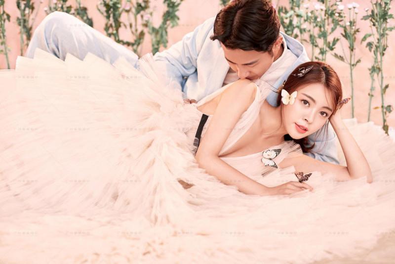 韩宫馆婚纱照